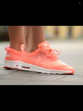 shoes nike air thea atomic pink