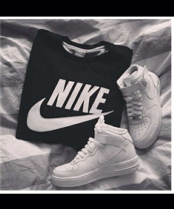 shoes nike air force 1 high nike sneakers nike air force 1 nike nike sportswear nike air nikes high top sneakers