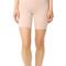 Spanx high waist mid thigh shorts - soft nude