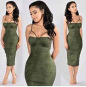 dress,clubwear,outfit,outfit idea,summer outfits,cute outfits,spring outfits,date outfit,party outfits,club dress,trendy,fashion,style,stylish,special occasion dress,olive green,green dress,green,shoes,sexy shoes,summer dress,summer shoes,sexy party dresses,party shoes,party make up,cute dress,cute shoes,clubbing  shoes,short dress,bodycon dress,sexy dress,party dress,nude high heels,nude shoes,heels,high heels,nude heels,cute high heels,strappy heels,bustier dress,bodycon,midi,midi dress,sexy,fall dress,fall outfits,classy dress,elegant dress,cocktail dress,girly dress,holiday dress,christmas dress,engagement party dress,homecoming dress,homecoming