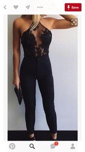 jumpsuit,black lace top,top,black jeans,pants,dress,black jumpsuit,black,floral,embellished,shirt,lace,mesh,halter top,blouse,bodysuit,summer,nightwear,sexy,halter neck,lace romper,valentines day,pinterest,tank top,black cutout,sexy shirt,skirt,cut-out,black top,see through,romper,black romper,pretty,sexy bodysuit,black lace mesh see through,black body suit,lace top