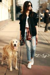 oh my blog,blogger,jacket,t-shirt,shirt,jeans,sunglasses,shoes,jewels