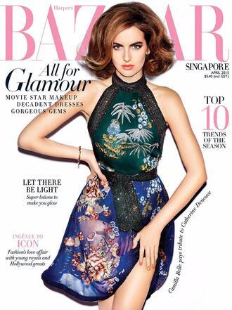 dress editorial camilla belle