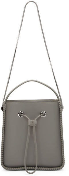 bag bucket bag grey