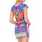 Luli fama tribal beach - short sleeve dress