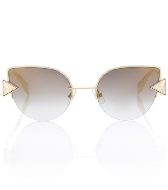 Fendi sunglasses yellow