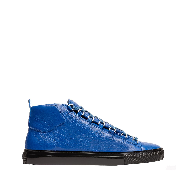 Balenciaga arena high sneakers bleu egyptien