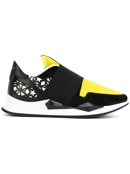 Givenchy women sneakers leather black shoes