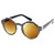 Retro Indie Hipster Fashion Round Pattern Sunglasses 8688                           | zeroUV