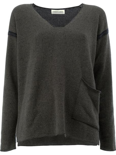 Lamberto Losani pullover women green sweater