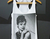 audrey hepburn shirt on Etsy, a global handmade and vintage marketplace.
