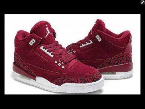 da18bc7b15b6 shoes jordan air jordan burgundy nike