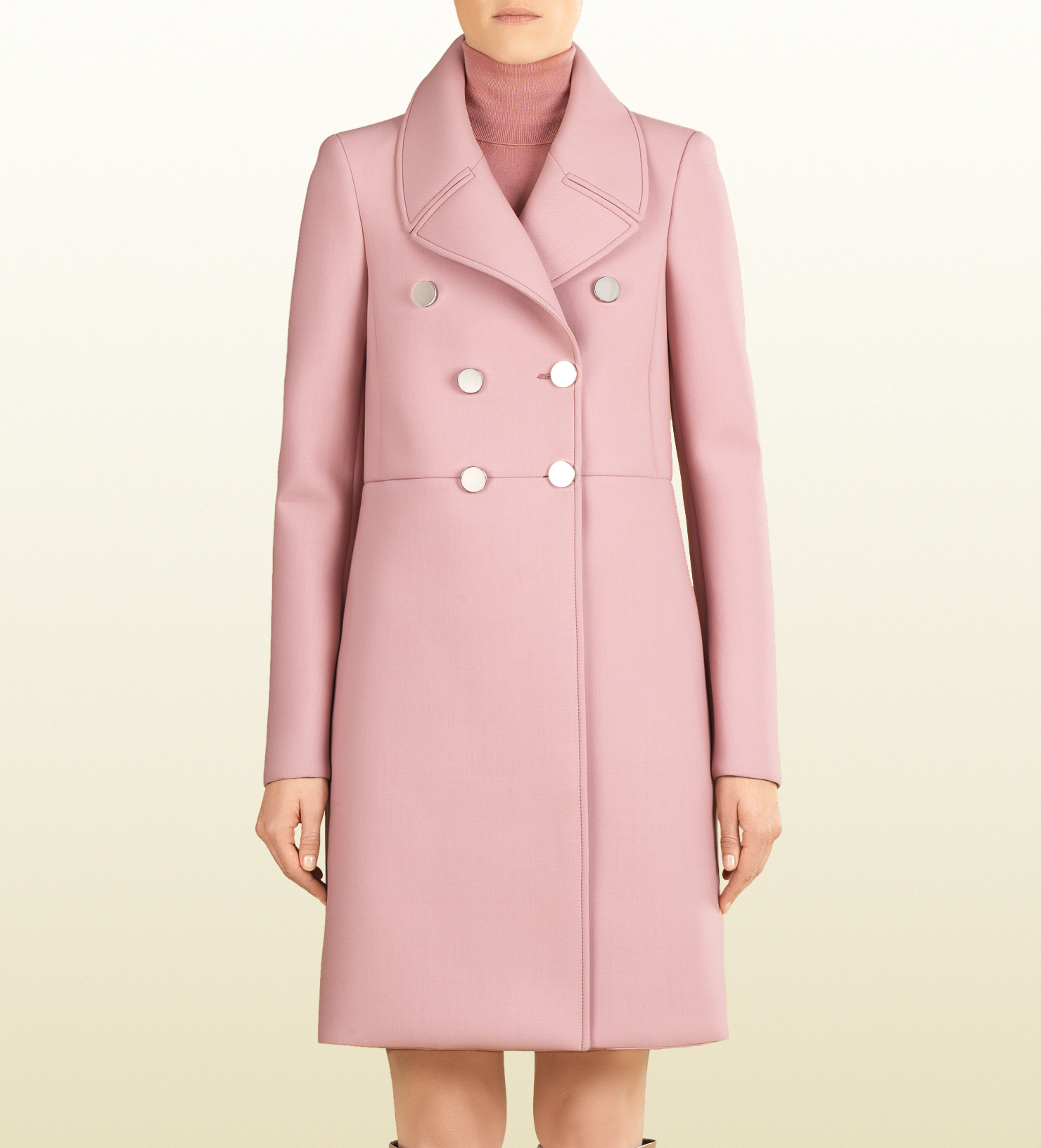 wool double-breasted coat 363281ZDM486168
