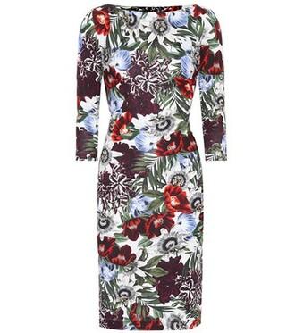 dress printed dress floral