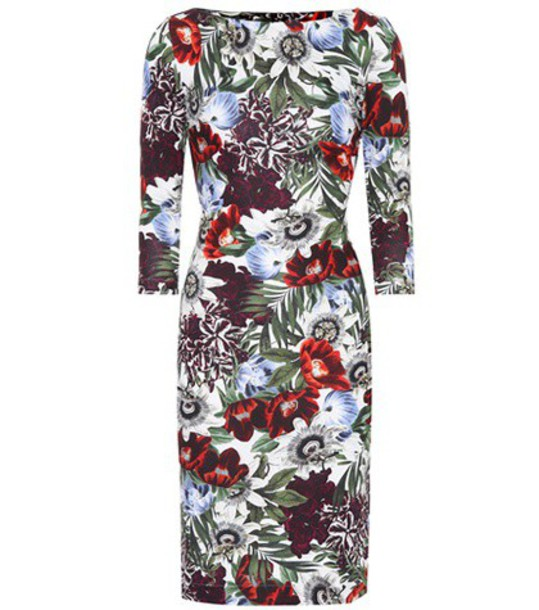 Erdem dress printed dress floral
