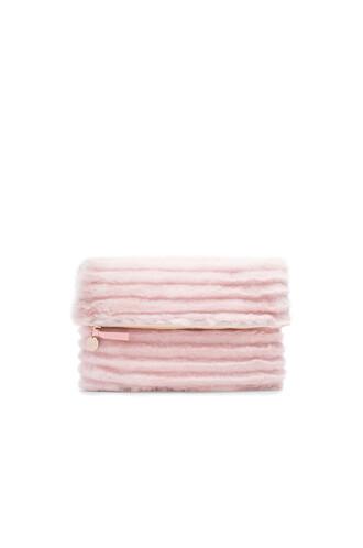 clutch blush bag