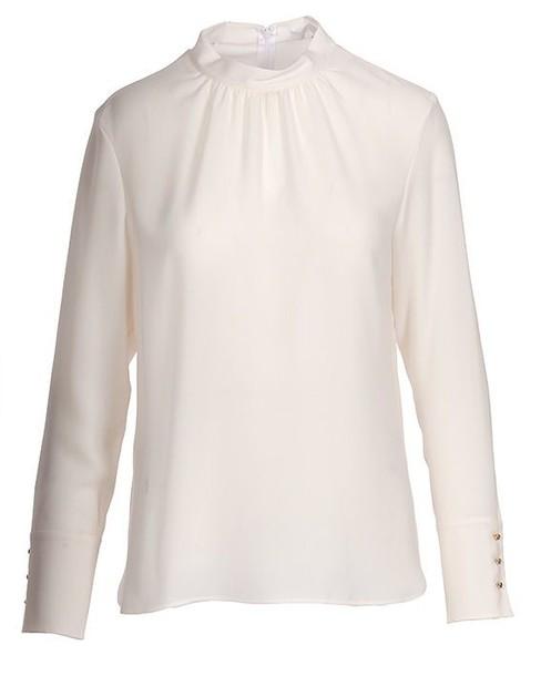 sweater open white