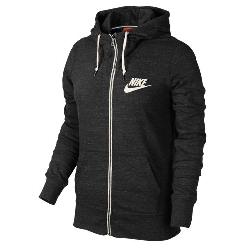 Nike Gym Vintage Full Zip Hoodie - Women's at SIX:02