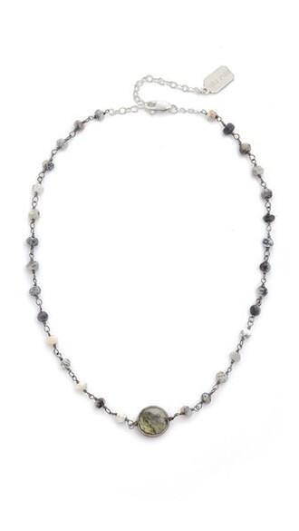 opal necklace choker necklace jewels