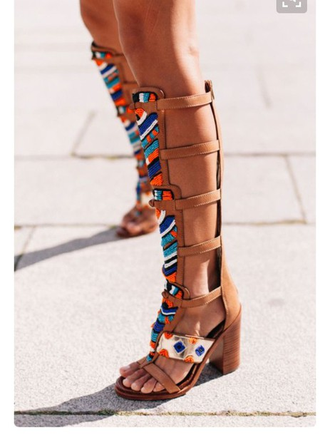 4b4ab3fe550f shoes sam edelman gladiators sandals sandal heels knee high gladiator  sandals