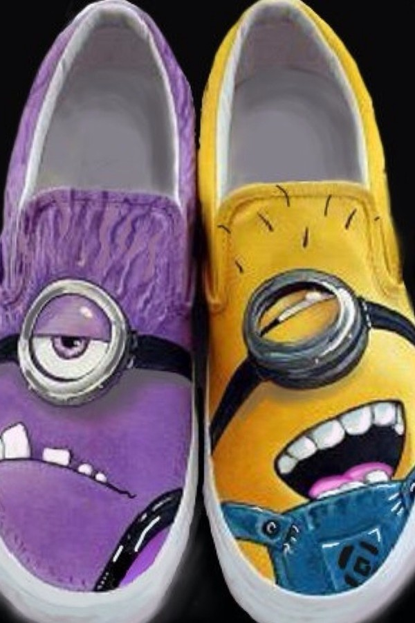 shoes minions vans of the minions