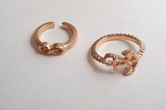 jewels knuckle ring anchor