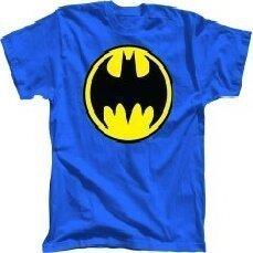 Batman Blue Youth Shirt (Large) | Boy's |  at Mighty Ape NZ