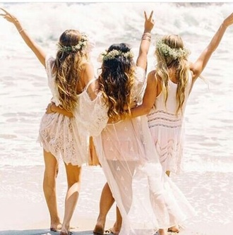 dress white dress lace dress pink dress beach dress