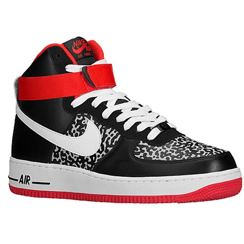 Air Force 1 Shoes Black High Top