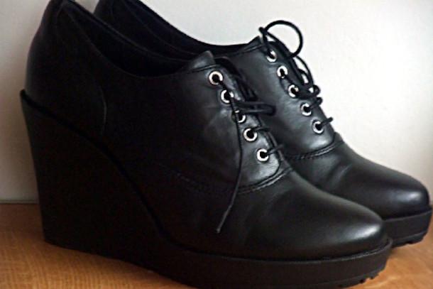 shoes black wedges black shoes shoes