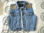 jacket,jeans,vest