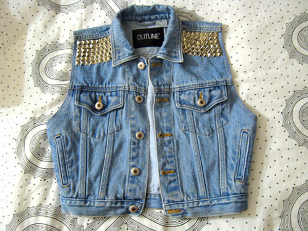 jacket jeans vest