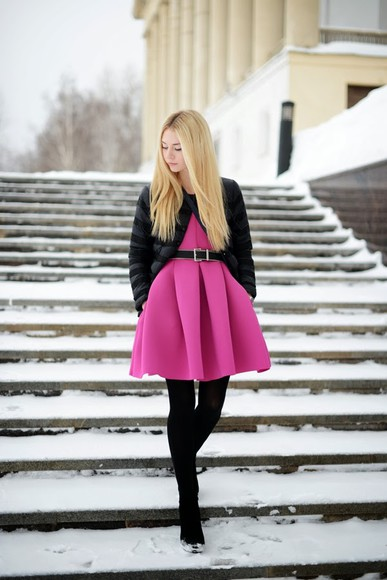 dress asos pink Choies pink dress hm fashion blogger blogger