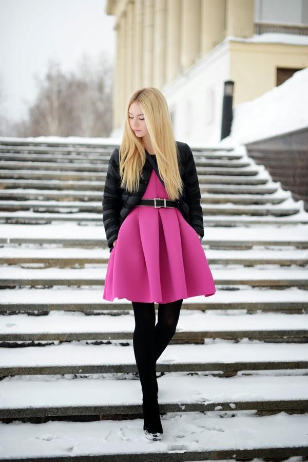 dress pink dress pink asos Choies hm fashion blogger blogger