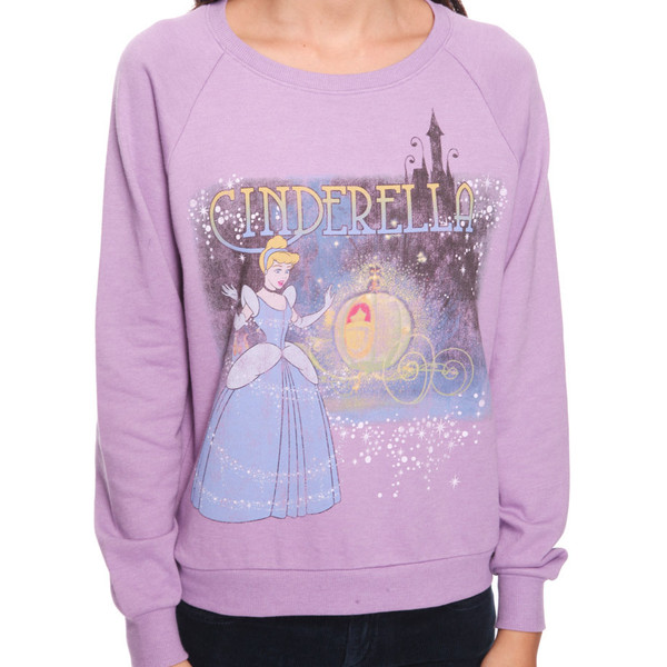 Cinderella French Terry Top - Forever 21 - Polyvore