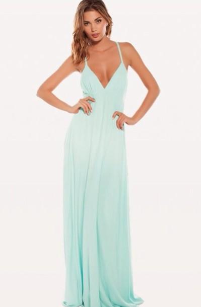 dress maxi dress blue dress