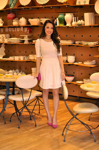 hapa time blogger white dress