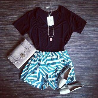 shorts blue shorts