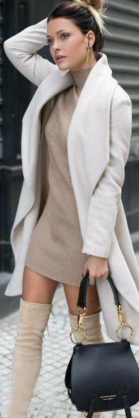 dress coat stiefel