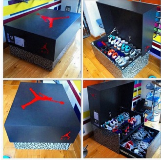 home accessory jordan shoes nike shoes sneakers storage unique