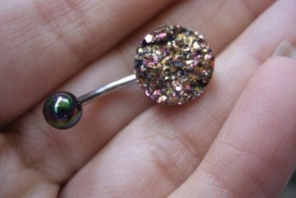 jewels belly button ring