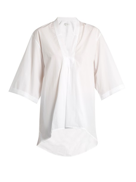 Amanda Wakeley shirt cotton white top
