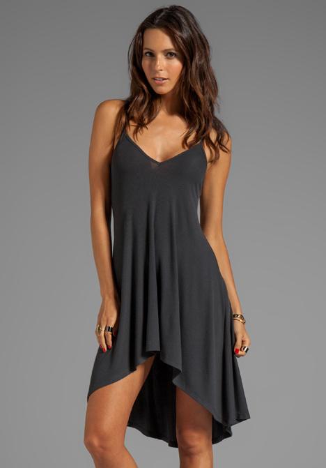 AGAIN Trinity Soft Rib Nighty Dress in Musk at Revolve Clothing - Free Shipping!