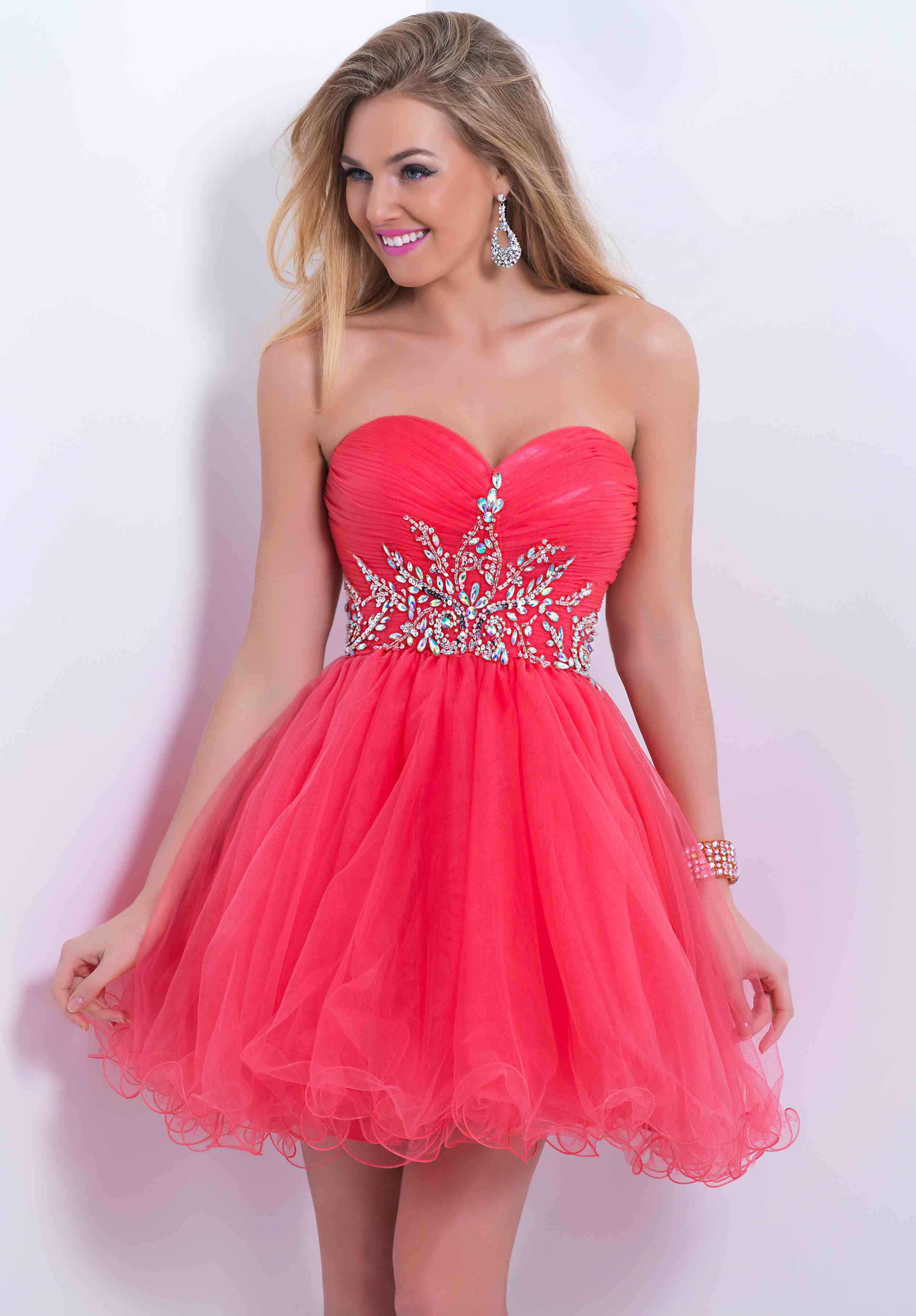 2014 Blush Party Homecoming Dress 9860