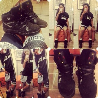 shorts teyana taylor shoes