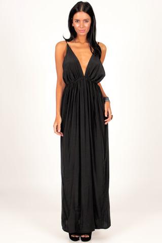 Goddess Maxi Dress | Foxx Foe
