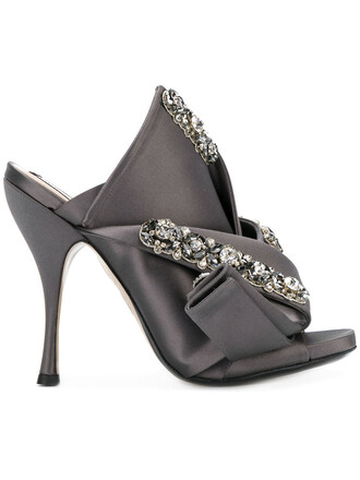 embellished sandals women embellished sandals leather grey shoes