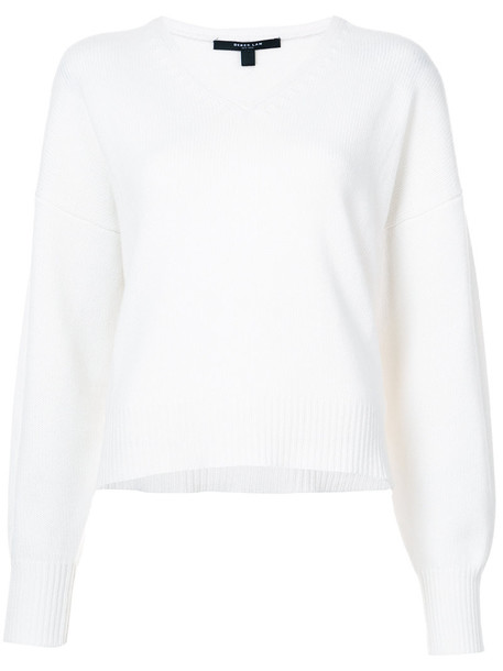 DEREK LAM sweater women white cotton