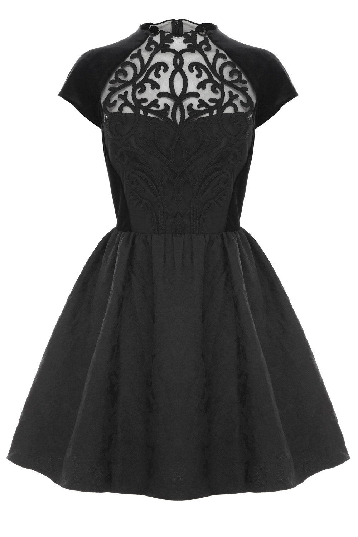 All Sale | Black ARLETTA SHORT DRESS  | Coast Stores Limited