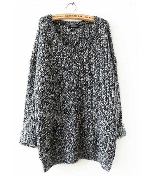 Om loose knit sweater